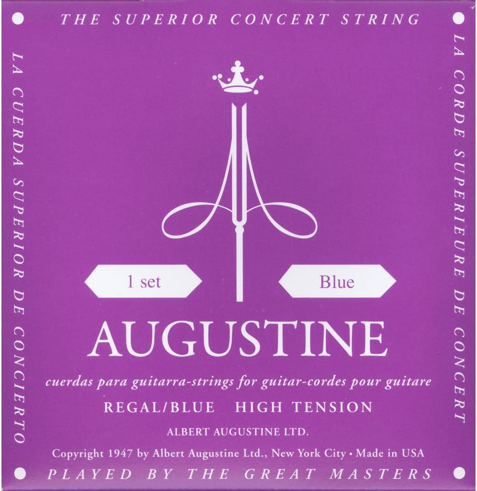 Augustine 7D60 - Juego de cuerdas para guitarra clasica, color morado