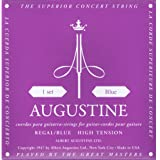 Augustine AUGREGALBLUSET Regal Blue High Tension Nylon Classical Guitar Strings