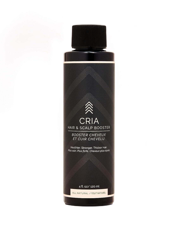 CRIA - Organic Hair & Scalp Booster | For Dull, Thinning, Brittle Hair | Clean, Non-Toxic Hair Care (4 fl oz)