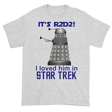 bd335955f4f Dobrador Shopateria Dalek R2D2! I Loved Him in Star Trek! T-Shirt ...