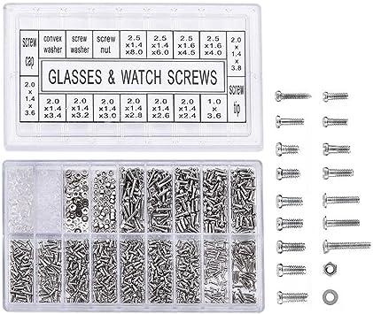 Small Screws Eyeglasses Repair Assortment Kit Multi-functional Screwdriver