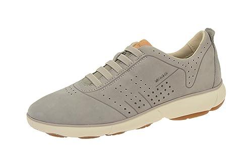 Geox D621ED 000LTC1010 - Mocasines de Piel Para Mujer, Color Gris, Talla 40: Amazon.es: Zapatos y complementos