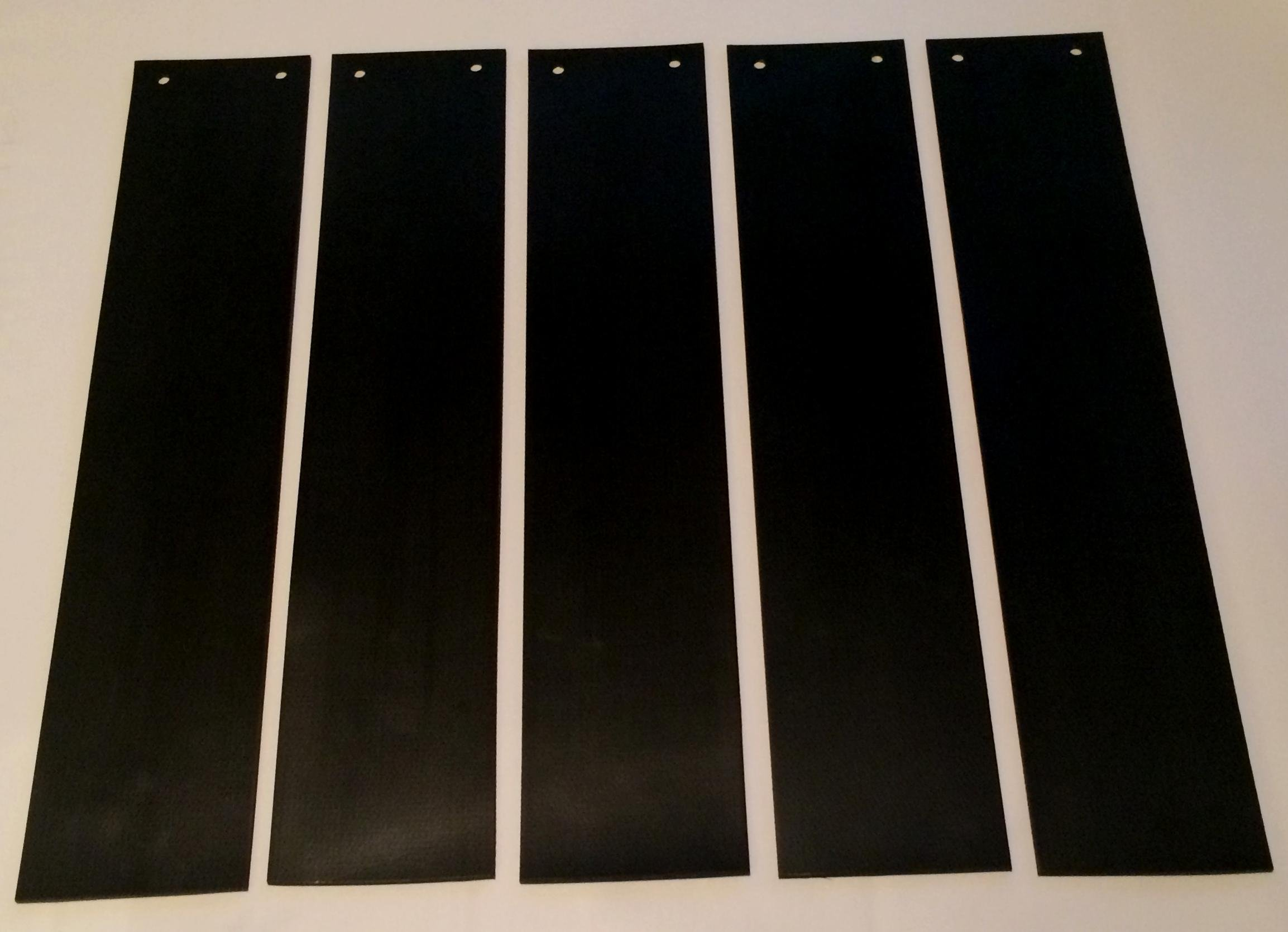 Lead Rubber Curtain Strips for Smiths 6040 Xray Scanner