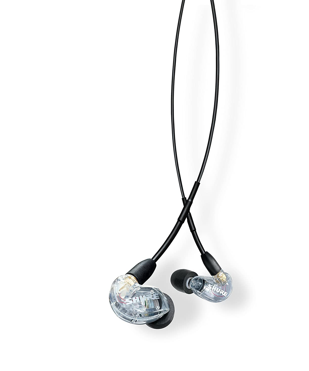 Shure SE215-CL-UNI Sound Isolating Earphones with Inline Remote & Mic for iOS/Android