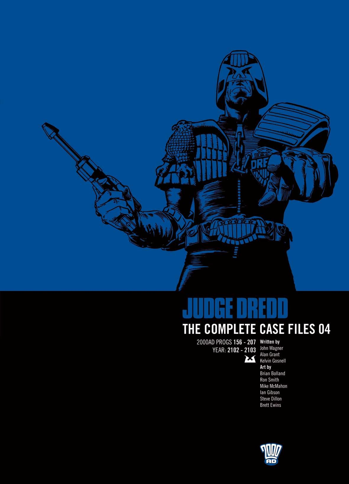 Read Online Judge Dredd: The Complete Case Files, Vol. 4 PDF