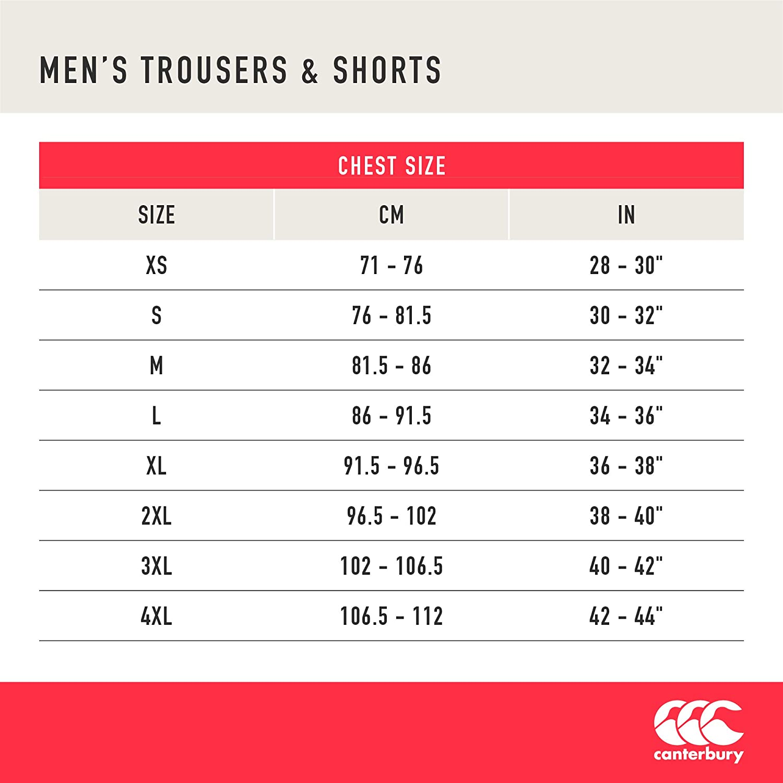 4X-Large Canterbury of New Zealand Mens Ireland Vapodri Woven Gym Shorts Navy Blazer