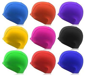 Gorro de natación »Guppy«   Unisex y hecho de material elástico   Se adapta e00f3f39d7c