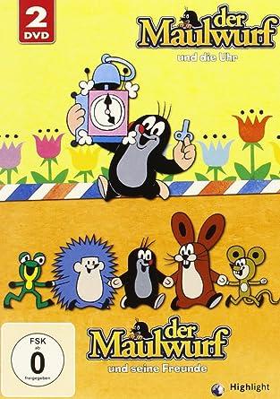 1b6ca62ae0 Der kleine Maulwurf - Collection Box 2 ( 2 DVDs ): Amazon.de: Zdenek ...