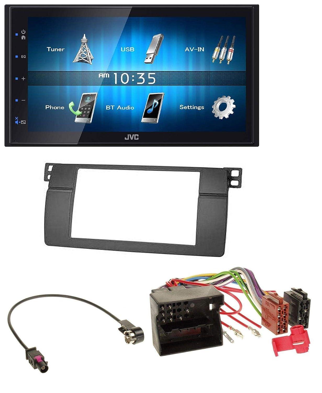 JVC aux 2din USB mp3 Bluetooth autoradio para audi a3 03-12 8p Quadlock