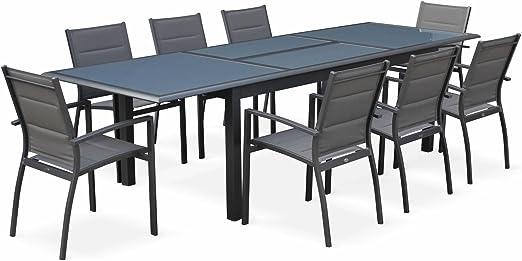 Alices Garden - Conjunto de mesa de jardín con sus sillas ...
