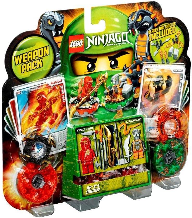 LEGO Ninjago 9591 - Pack de Combate: Amazon.es: Juguetes y juegos