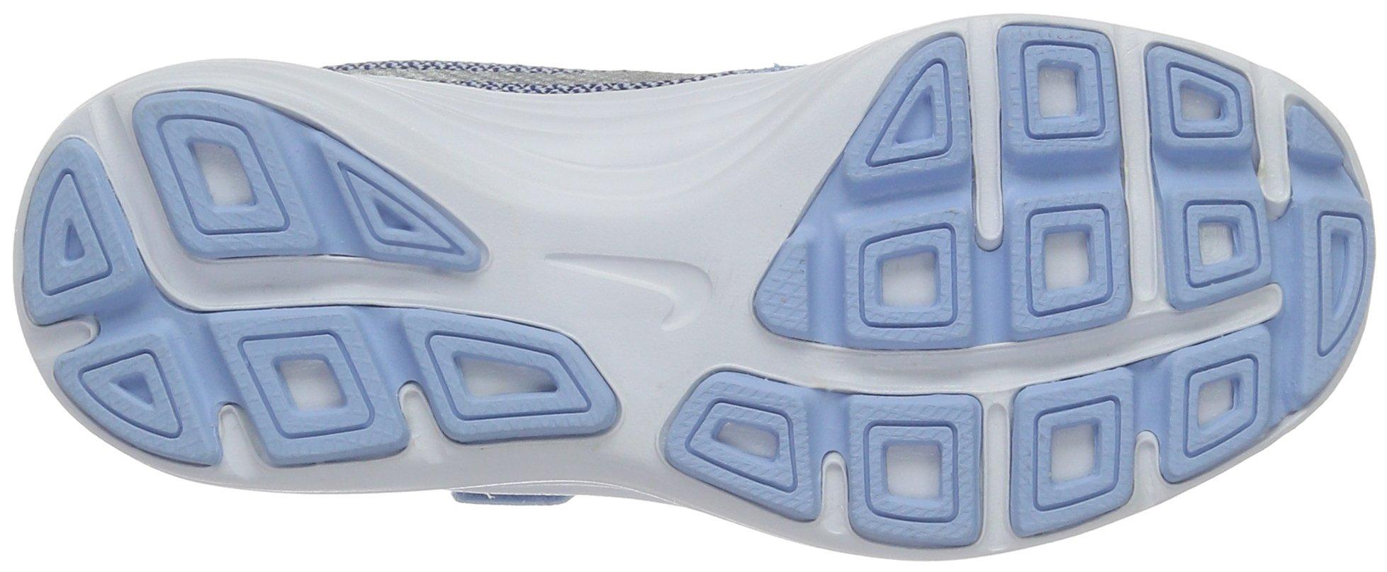 NIKE Kids' Revolution 3 (Psv) Running-Shoes, Bluecap/Metallic Silver/Deep Royal Blue, 1 M US Little Kid by Nike (Image #3)
