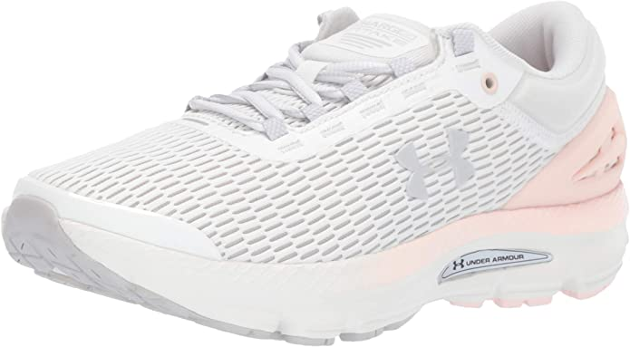 Under Armour Charged Intake 3 Sneakers Laufschuhe Damen Weiß/Grau