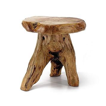 Amazon.com: WELLAND - Banco de cedro natural: Jardín y ...