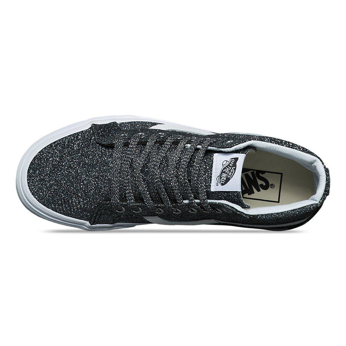 9321759ae7570 Vans Sk8-hi Reissue Women s Grey Glittered Sports Shoes VN0A2XSBU3T 41 EU   Amazon.co.uk  Shoes   Bags