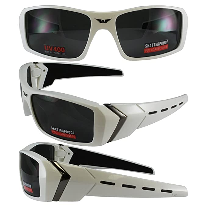 f77939c35a58 Image Unavailable. Image not available for. Color  Global Vision Oxygen  White Frame Smoke Lenses