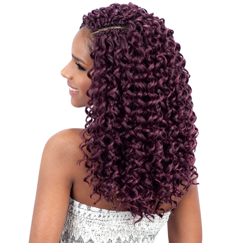 Amazon Com Freetress Synthetic Hair Crochet Braids Gogo Curl 12 3 Pack 1 Beauty
