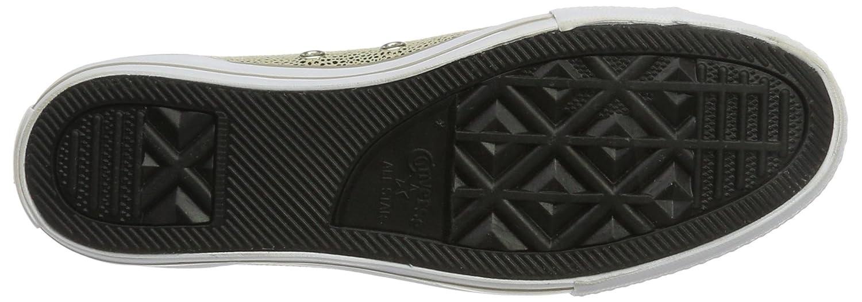 Converse Chuck Taylor - Damen Schuhe Turnschuhe Chucks - - - 553333C - Light-Gold-schwarz 9a6d87