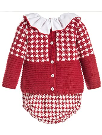 ef753f3ce Amazon.com  ARAUS Baby Girl Autumn Knitted Clothes Set Long Sleeve ...
