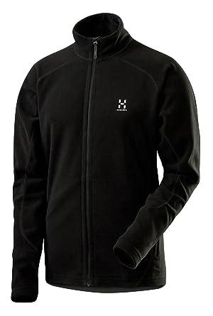 Haglöfs Iso Functional - Chaqueta para hombre, tamaño S, color negro