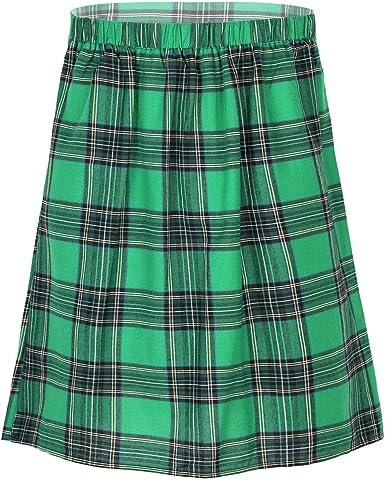Alvivi Falda Escocesa Plisada para Hombre Traje Tradicional ...