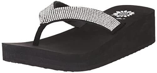 8e80a4e4311cc7 Yellow Box Women s Cliff Wedge Flip Flop  Buy Online at Low Prices ...