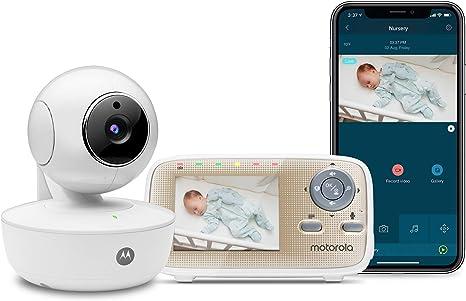 Motorola MBP669CONNECT Monitor de vídeo para bebés con unidad de ...