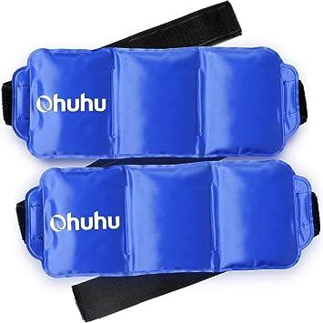 Amazon.com: Ohuhu - Paquete de 2 hielos para lesiones, 1 ...