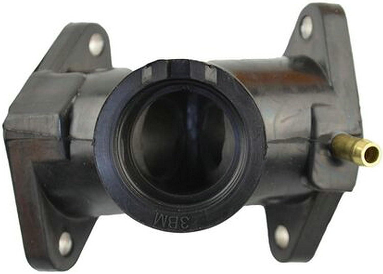 jatech Motorcycle Carburetor Intake Manifold for Yamaha XV 250 Virago XVS250 V star Carburetor pad plastic outlet Interface