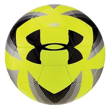 488f1f7de Under Armour Desafio 395 Soccer Ball, Hi-Viz YellowSilver, ...