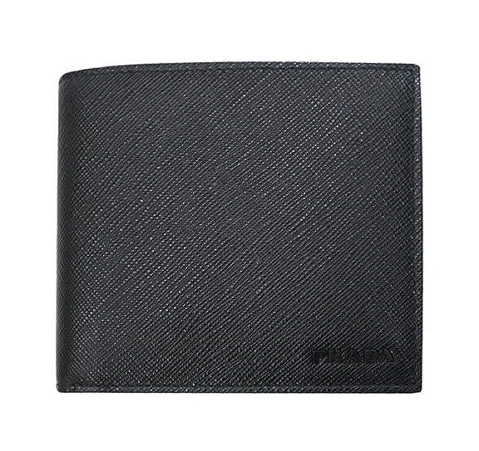 Amazon.com: Prada 2MO513 - Cartera de piel con diseño de ...