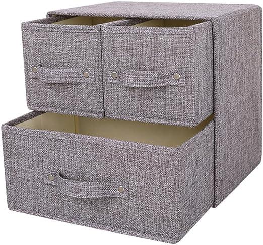 YINGGG tela cajón Torre unidad de almacenamiento organizador caja ...