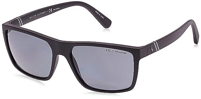 Polo 0PH4133 Gafas de sol, Rectangulares, Polarizadas, 59 ...