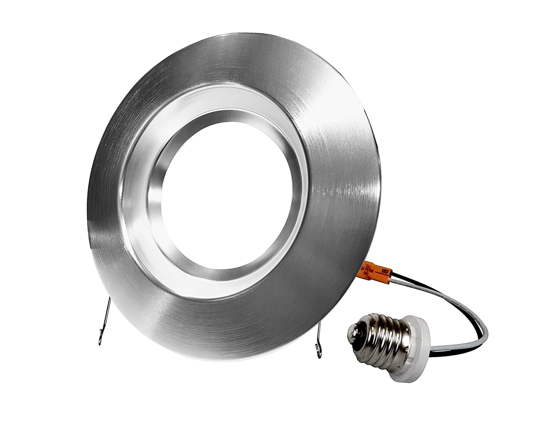 Nickel NICOR Lighting DCR561121204KNK LED Downlights