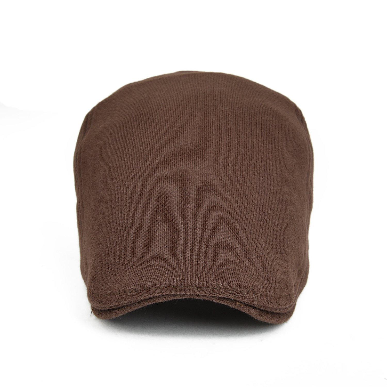 VOBOOM2017 Mens Cotton Flat Ivy Gatsby Newsboy Driving Hat Cap
