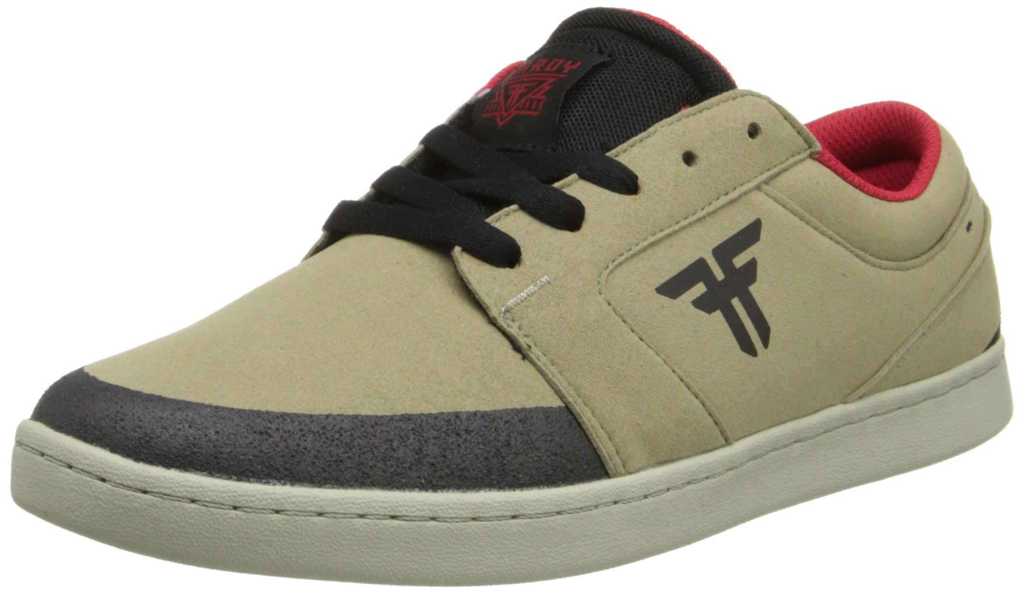 Fallen Torch Skate Shoe,Khaki/Black,7 M US by Fallen