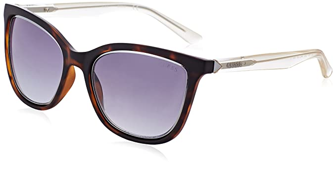 Womens GU7467 Sunglasses, Brown (Marrone), 54 Guess