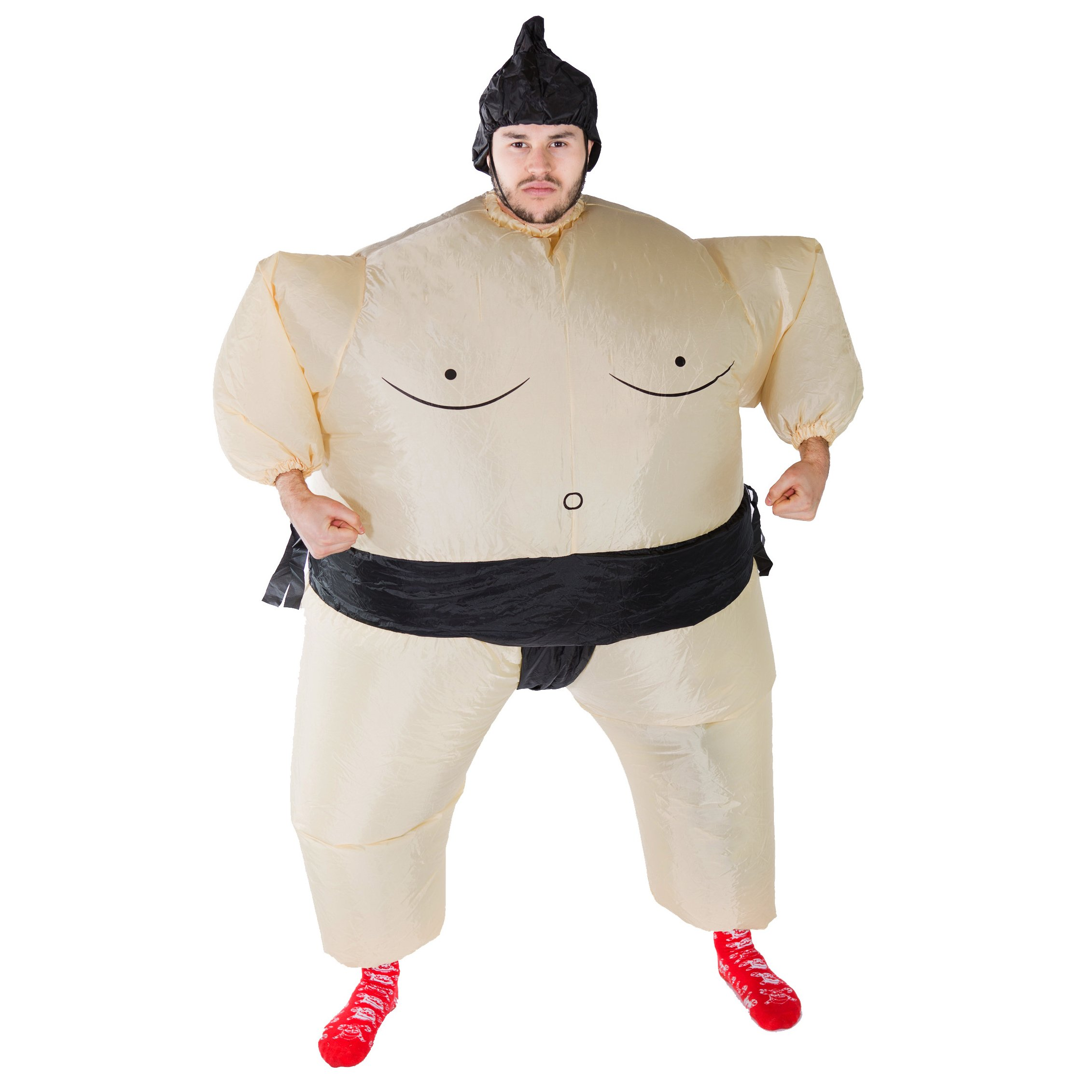 Bodysocks Adult Inflatable Sumo Wrestler Fancy Dress Costume by Bodysocks