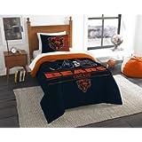 The Northwest Company NFL Unisex Twin Comforter and Sham Set