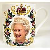 HRH Queen Elizabeth II 90th Birthday Bone China Mug Collectors Commemorative Mug