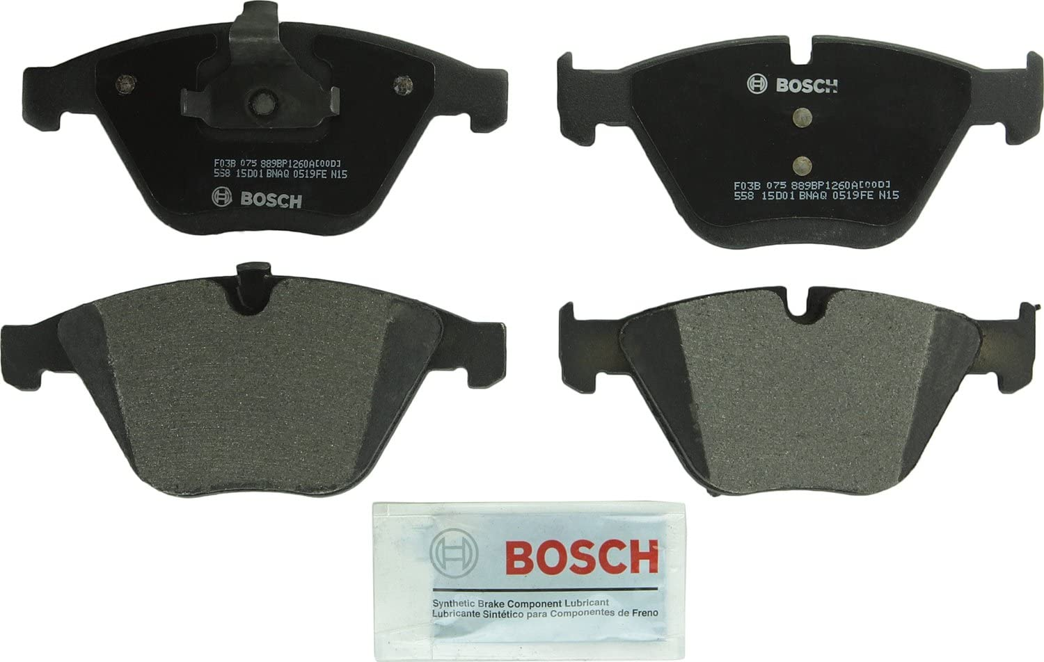 2006 2007 2008 2009 For BMW 750i Front Semi Metallic Brake Pads