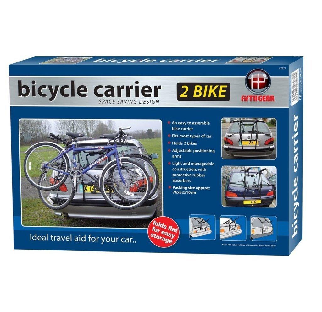 3 BICYCLE REAR MOUNT CARRIER CAR RACK for CITROEN BERLINGO MULTISPACE 08-ON