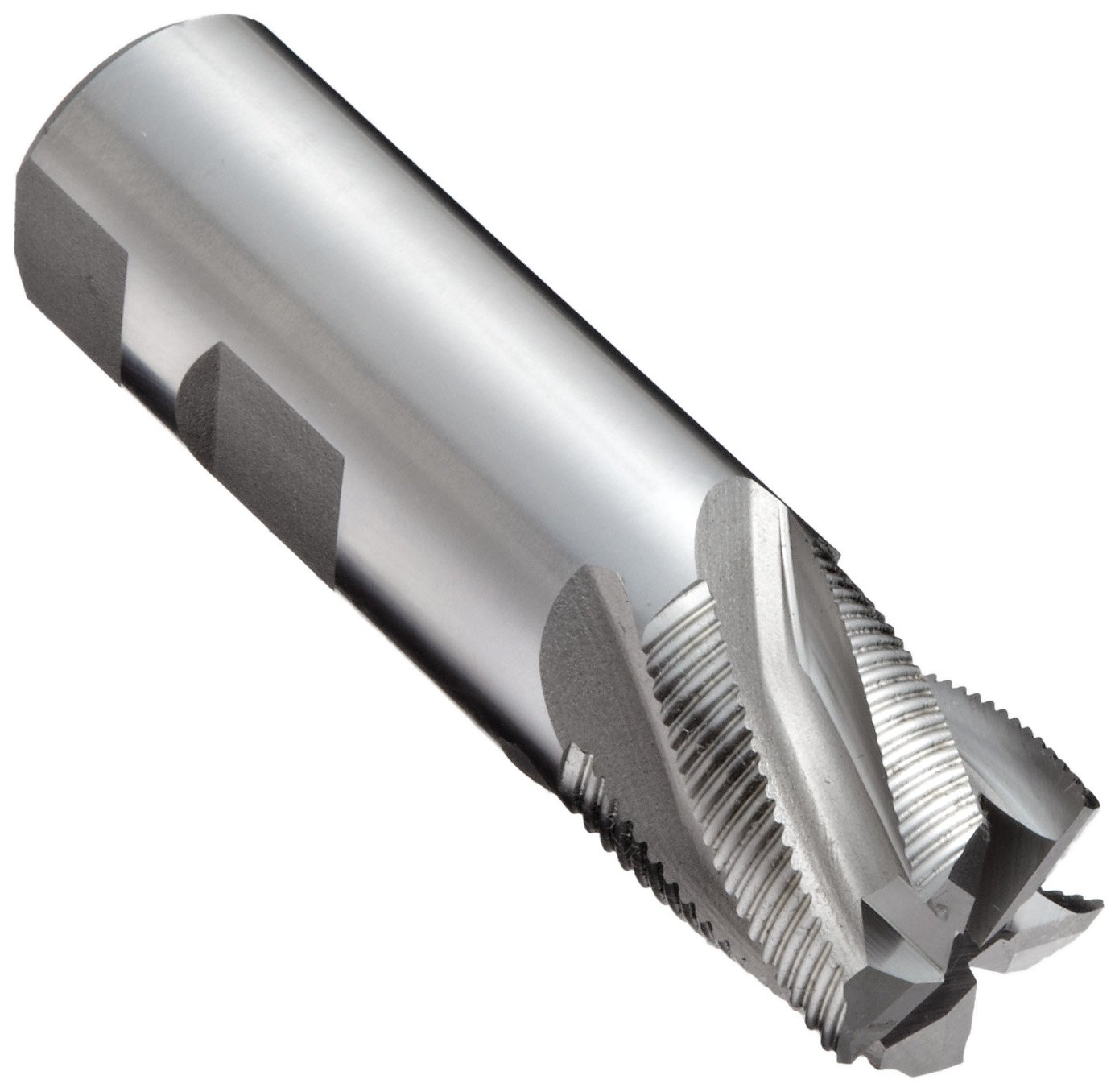 Bright YG-1 E5011 Carbide Square Nose End Mill 1 Cutting Diameter Uncoated 2 Flutes 30 Deg Helix Finish Long Reach 1 Shank Diameter 5 Overall Length 1 Cutting Diameter 1 Shank Diameter YG-1 Tool Company 02600 5 Overall Length