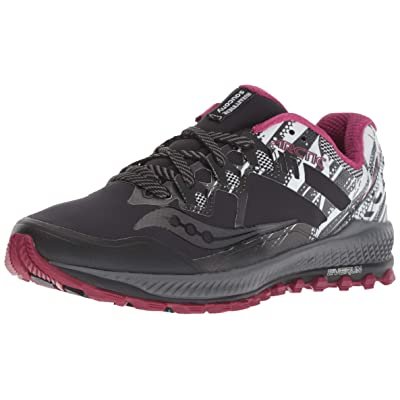 Saucony Peregrine 8 ICE+ Women 5 Black | White | Trail Running