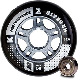 K2 30B3010.1.1 Roues Mixte Adulte, Noir, Taille : 84 mm K2AA3|#K2 I1704024010