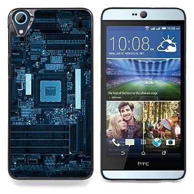 ihec tech blue pcb board schematics / hard protective case cover / for htc  desire 826: amazon co uk: electronics