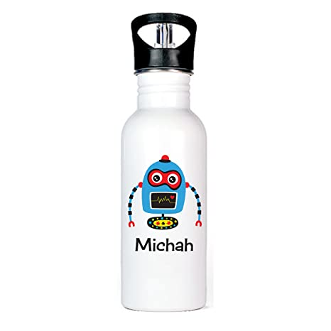 Amazon.com: Robot Ninja Aluminum Water Bottle: Kitchen & Dining