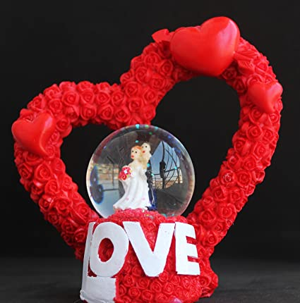 Buy Valentine Gifts Love Couples Snow Globe Perfect Gift For