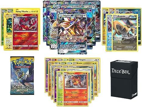 Burning Shadows RARE HOLOS GUARANTEED 20x Pokemon Cards Bundle Sun /& Moon