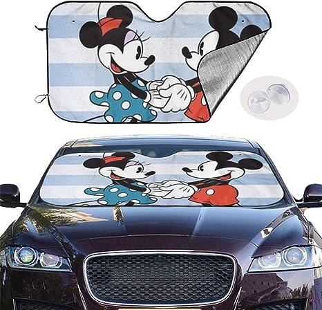 Sunshade Minnie Mouse Car Decal Summer Mickey Mouse Car Decal Car Decal